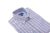 Multi Color Orchard Check Slim Collar
