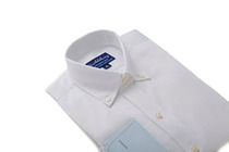 Presidential White Slim Collar