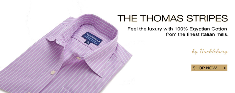 Egyptian Cotton Luxury Shirts by Hucklebury