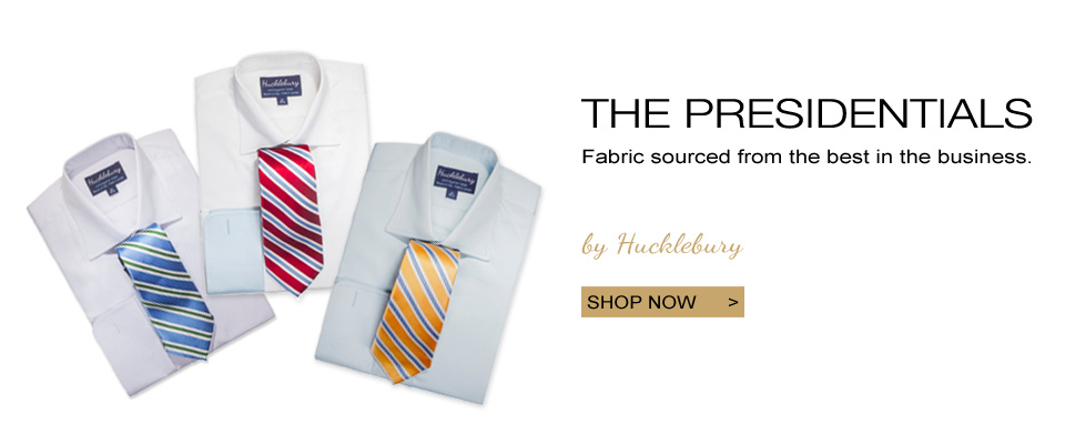 Hucklebury Presidential Luxury Shirts Collection