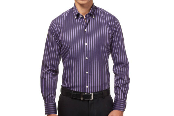 Slim Fit Dress Shirt from Hucklebury