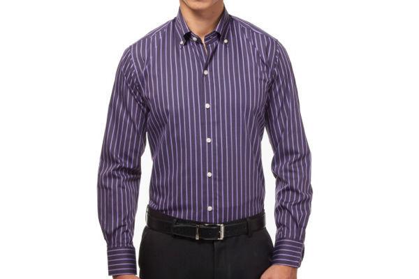 Slim Fit Dress Shirt from Hucklebury