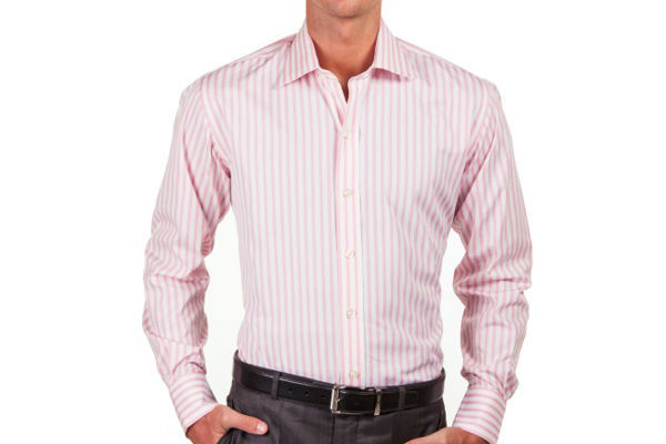 Light Pink Striped Shirt